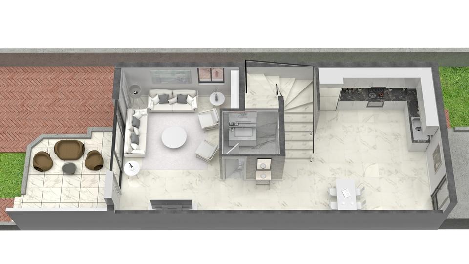 2 Beds Ground Floor