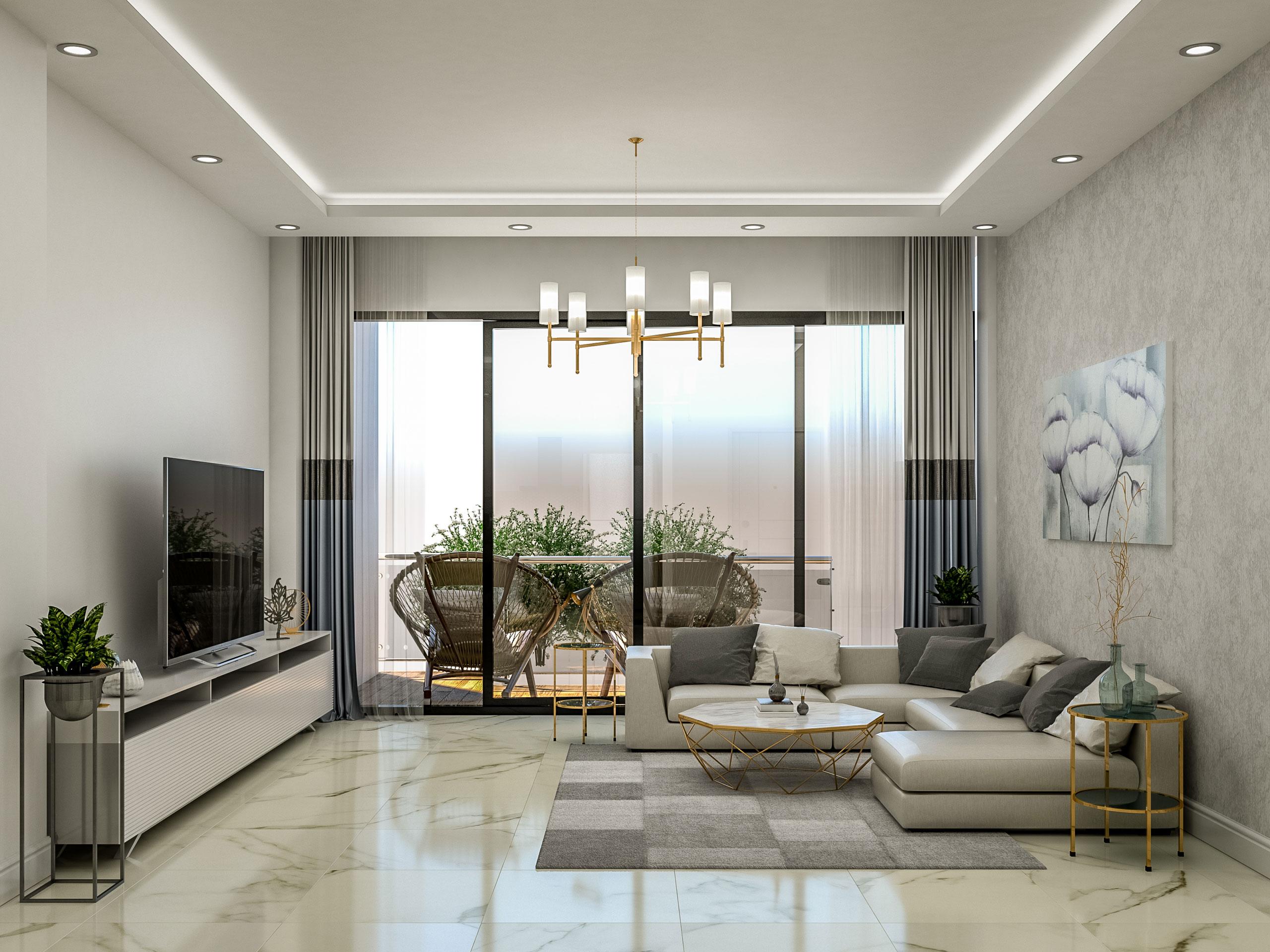 Chloraka Seaview – 1 & 2 & 3  Beds Luxury Apartments