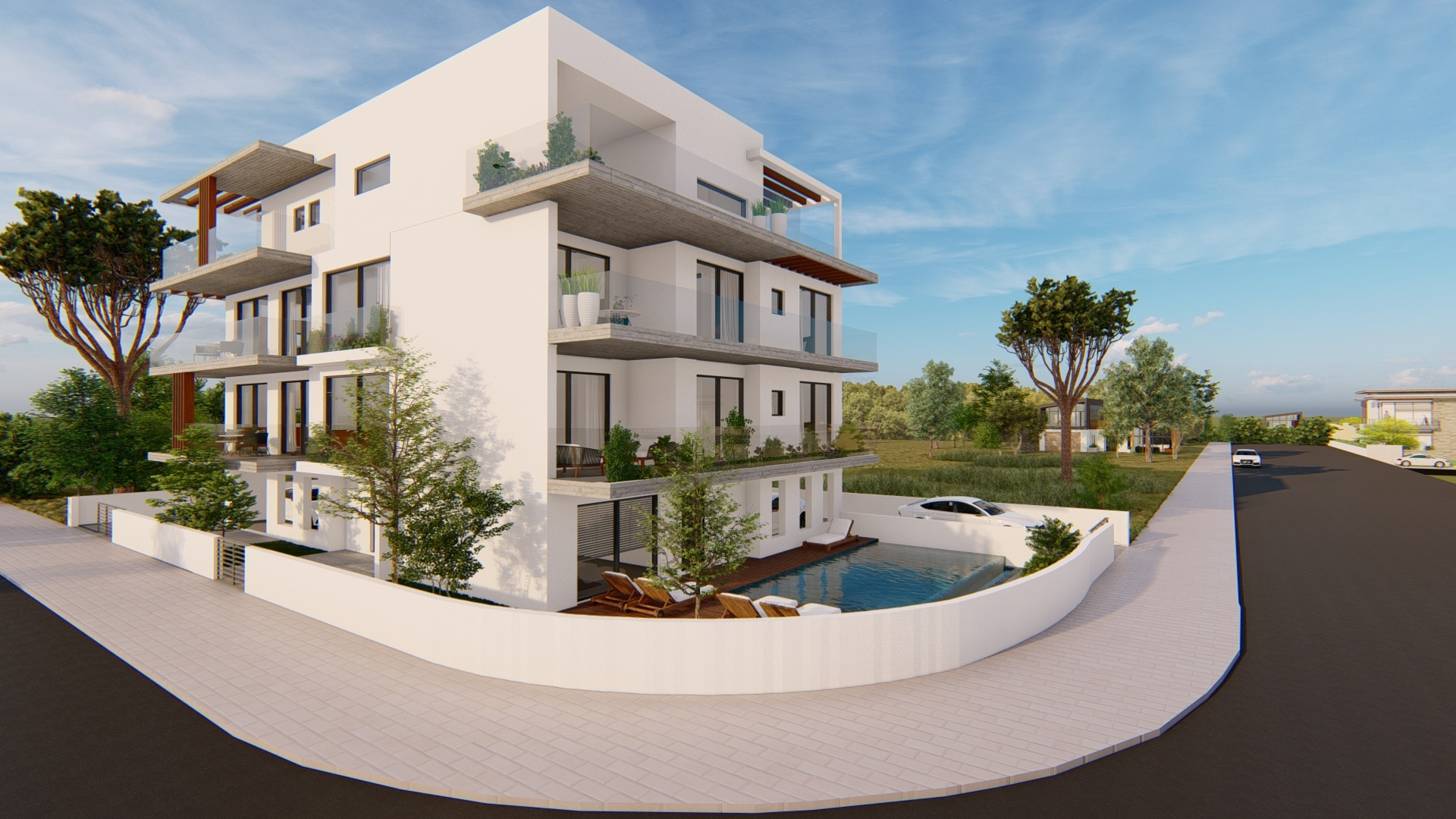 Elegant Complex – 3 Beds Luxury Apartments and Penthouse