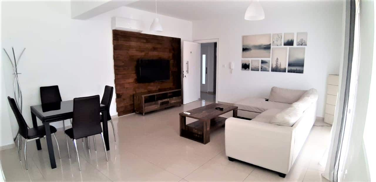 2 bedrooms fully furnished flat available for long term rent in Anavargos. Near school.